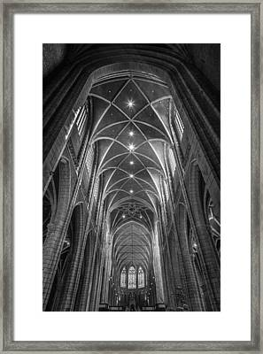 Saint Bavo's Cathedral Framed Print by Chris Fletcher