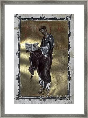 Saint Luke Framed Print by Granger