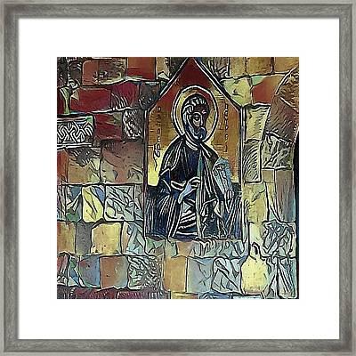 saints - My WWW vikinek-art.com Framed Print by Viktor Lebeda