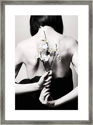 Sakura  Framed Print by Art of Invi
