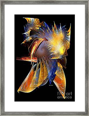 Samurai Framed Print by Rafael Salazar