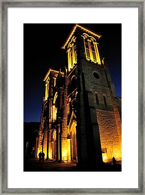 San Fernando Cathedral Framed Print by Iris Greenwell