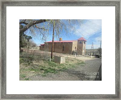 San Rafael Church Framed Print by Frederick Holiday