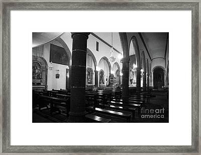 Sao Miguel Arcanjo Church Framed Print by Gaspar Avila