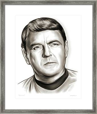 Scotty Framed Print by Greg Joens