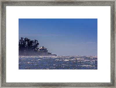 Sea Mist Framed Print by Marvin Spates