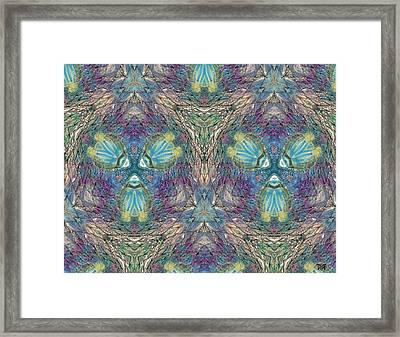 Seascape I Framed Print by Maria Watt