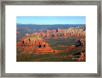 Sedona  Framed Print by Julie Lueders