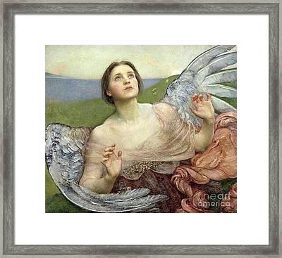 Sense Of Sight Framed Print by Annie Louisa Swinnerton