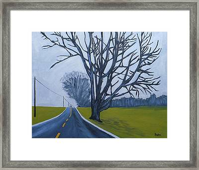 Sentinel Framed Print by Laurie Breton
