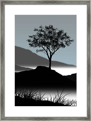 Serene Framed Print by Chris Brannen