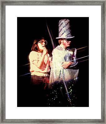 Sgt. Pepper's Kay Cole Bruce Scott 2 Framed Print by Howard Dando