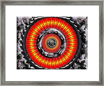 Shine On It Framed Print by Robert Orinski
