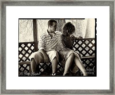 Shy Framed Print by Clayton Bruster