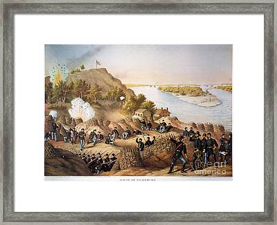 Siege Of Vicksburg, 1863 Framed Print by Granger