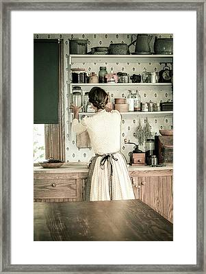 Simple Life 9 Framed Print by Julie Palencia