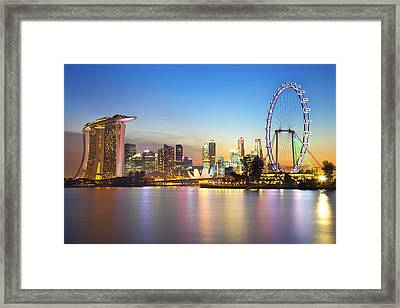 Singapore Framed Print by Been inspired,beautifull, Buyer are welcome to make enquiry