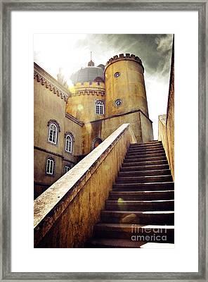 Sintra Palace Framed Print by Carlos Caetano