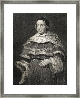Sir Matthew Hale, 1609-1676. Lord Chief Framed Print by Vintage Design Pics