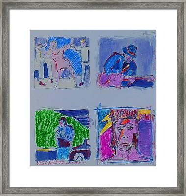 Sketchbook Framed Print by Samuel Zylstra