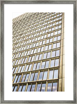 Sky Scraper Framed Print by Tom Gowanlock