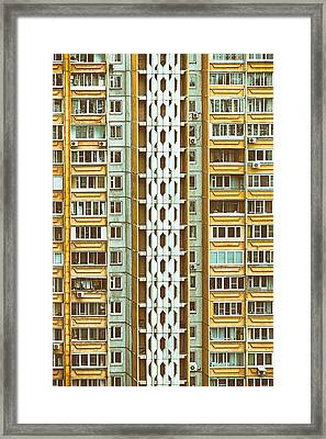 Skyscraper Framed Print by Stelios Kleanthous