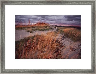 Sleeping Bear Dunes National Lakeshore Framed Print by Melissa Farlow