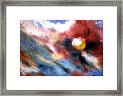 Small Planet Framed Print by Gene Garrison