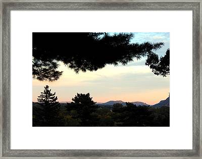Softer Light Framed Print by Wild Thing