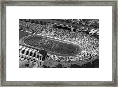 Soldier Field, Chicago, Illinois, Circa Framed Print by Everett