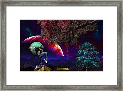 Somewhere Framed Print by Marvin Blaine