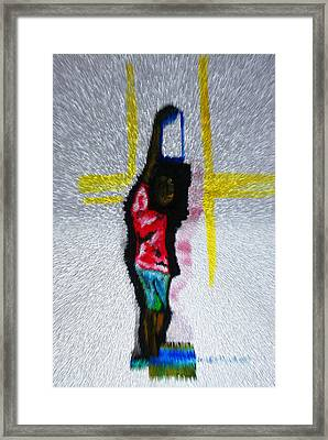 South Sudan War Child Framed Print by Gloria Ssali