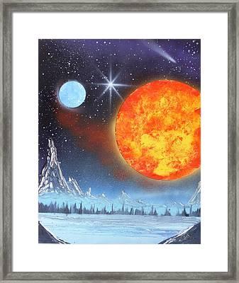 Space Art 2 Framed Print by Lane Owen