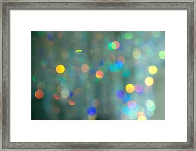 Sparkle Framed Print by Kathy Bassett