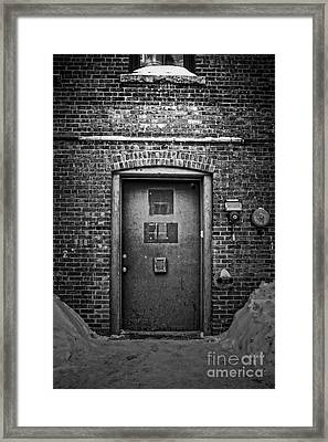 Speakeasy Framed Print by Edward Fielding