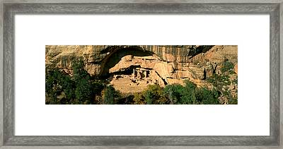 Spruce Tree House, Mesa Verde National Framed Print by Panoramic Images