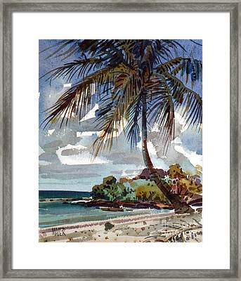 St. Croix Beach Framed Print by Donald Maier