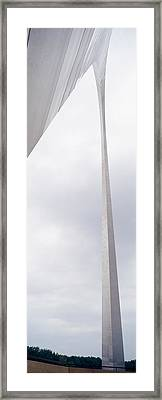 St Louis Arch St Louis Mo Framed Print by Panoramic Images