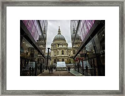 St Pauls Framed Print by Martin Newman