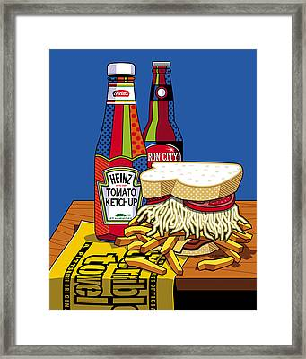 Steel Life Framed Print by Ron Magnes