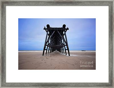 Steetley Pier Framed Print by Stephen Smith