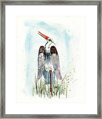 Jenifer's Friend - George #1 Framed Print by Sam Sidders