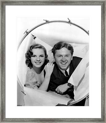 Strike Up The Band, Judy Garland Framed Print by Everett