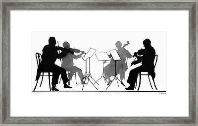 String Quartet, C1935 Framed Print by Granger