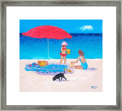 Summer Vacation Framed Print by Jan Matson