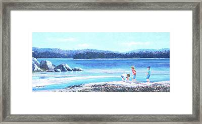 Sunday Afternoon Framed Print by Jan Matson