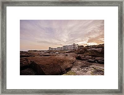 Sunrise On The Oregon Coast Framed Print by Scott Pellegrin
