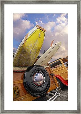 Surf Toys Framed Print by Ron Regalado
