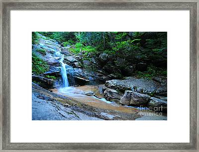 Swiftwater Falls  Framed Print by Catherine Reusch  Daley