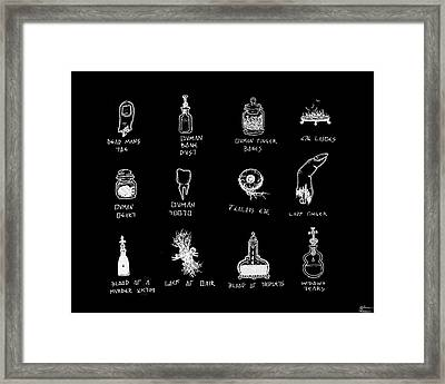 Taken From Humans Framed Print by Shawn Powers